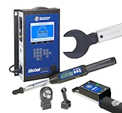 Global 400 torque controller and 1200 Series Exacta torque wrench