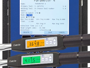 1250 Series Exacta 2 Digital Torque and Angle  Wrench